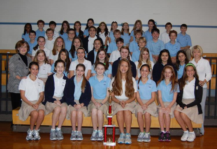 SMCS Forensic Team Takes 1st Place at St. Agnes Speech Tournament