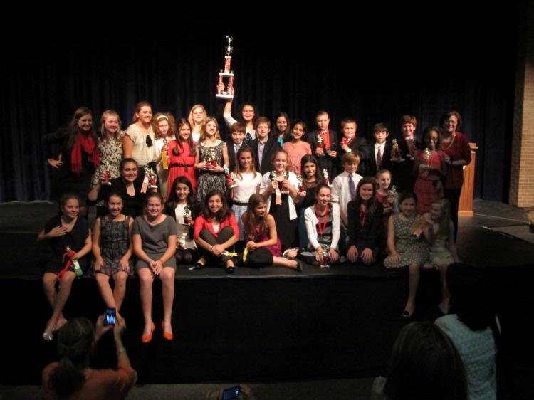 SMCS Forensics Team Takes First Place Sweepstakes at St. Agnes Tournament!