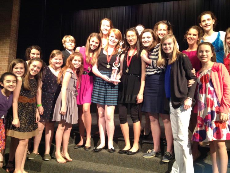 SMCS Take First Place at ST. Agnes Speech Tournament