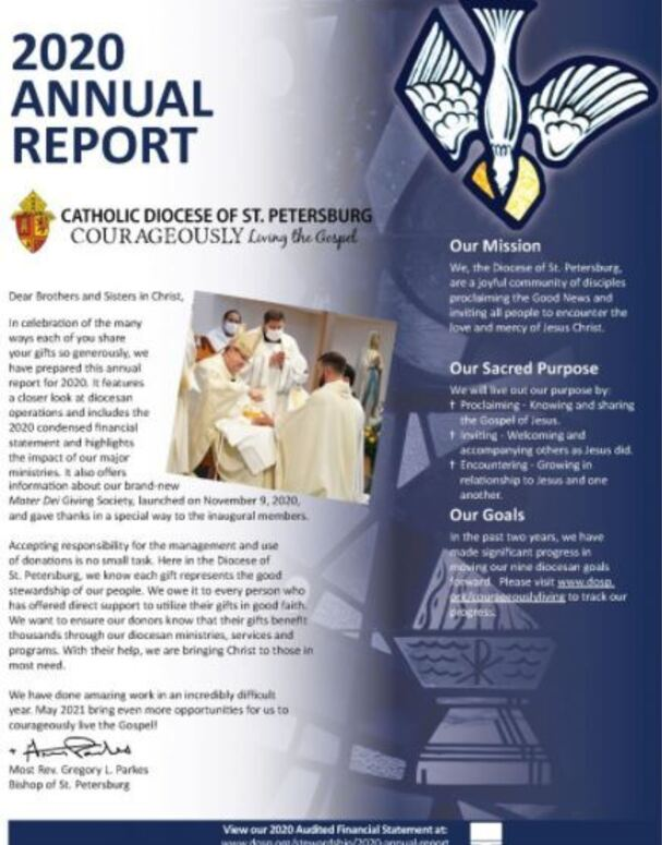 Diocese of St. Petersburg Annual Report