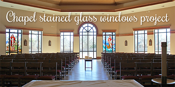 Chapel stained glass window project