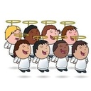 Children's Choir Practice. God's Angels