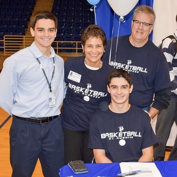 Issac Meenan continues his college career at St Ambrose University, Iowa