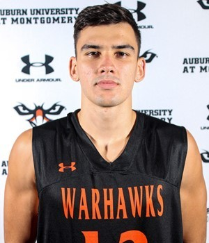 Strahinja Ivic Continues his College Basketball Career at Auburn University at Montgomery