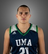 Matija Andjelkovic continues his basketball career at the University of Maine at Augusta