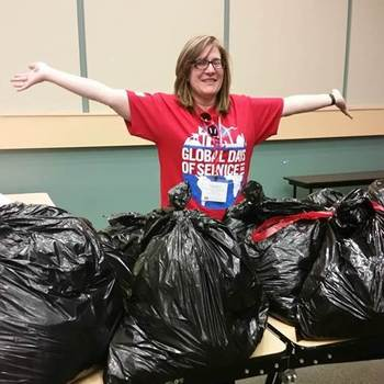 Spring cleaning can benefit others