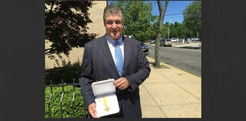 Douglas J. Susan, Esq. awarded Benemerenti Medal from Pope Francis