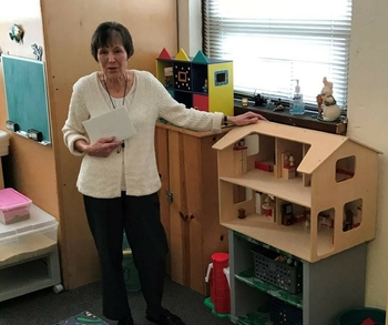 Therapist Connie Citro honored with Play Therapy Room Dedication
