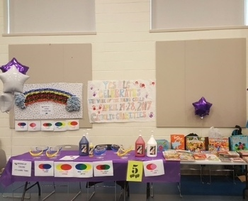 YES Center provides resource and activity booth during Week of Young Child.