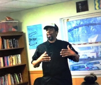 Chef Aaron Visits Kids at Catholic Charities' Youth Partial Care Program