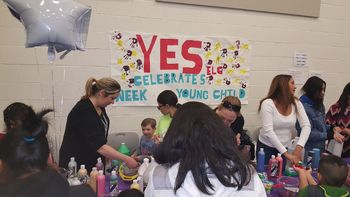 The YES Early Learning Center celebrated the Week of the Young Child at the 2018 Fun Fair