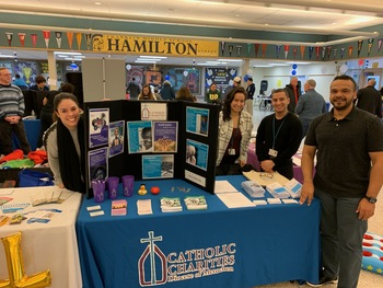 Staff Share Resources at Winter Carnival
