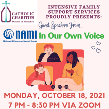 Guest Speaker From NAMI: In our own voice