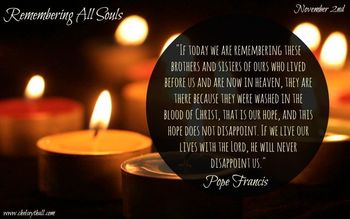 2 November, Commemoration of All the Faithful Departed (All Souls)