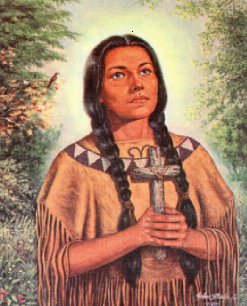 Feast Day: Blessed Kateri Tekakwitha