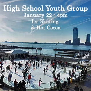 Youth Group Ice Skating