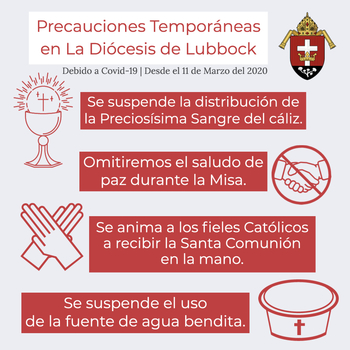 COVID Liturgy Adjustments - Spanish