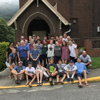 Saint Patrick parishioners travel to West Virginia to help those in need!