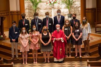 Congratulations to our Teens that were Confirmed on July 31 and August 5, 2020!