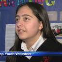 Holy Ghost Seventh Grader recognized as a top youth volunteer in the state!