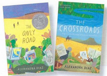 Author Alexandra Diaz at Holy Ghost