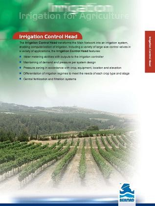 Bermad Irrigation Control Head