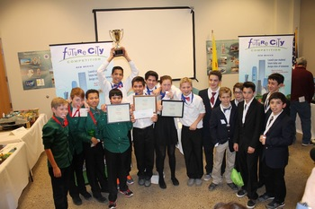 ACS Future City Teams Swept the NM Regional Competition!