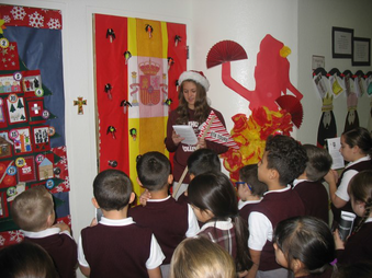 St. Thomas Aquinas Celebrates Christmas Around the World
