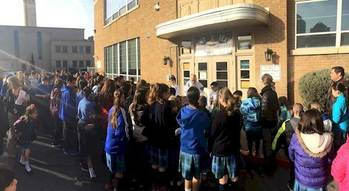 Albuquerque Catholic School Celebrates Blessing of The Door