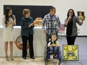 The SPX Community Grants the Wish of Luis A. and His Family