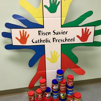 Peanut Butter Tower at Risen Savior Preschool