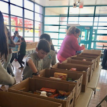 OLA Students - Service Within Their Own Neighborhood