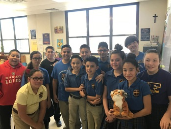San Felipe de Neri School Raised Funds to Support the Critically Endangered Tiger Species