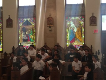 8th Grade Mass - Chapel