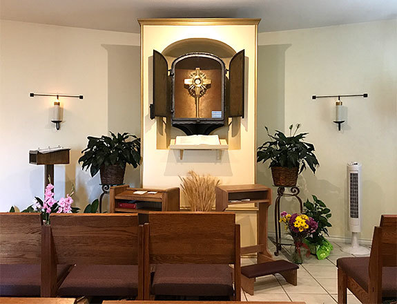 Adoration Chapel at St. Helen
