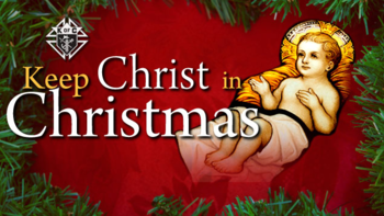 Knights of Columbus Keep Christ in Christmas Poster Contest