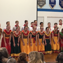 8th Grade Perform their Spanish Dance