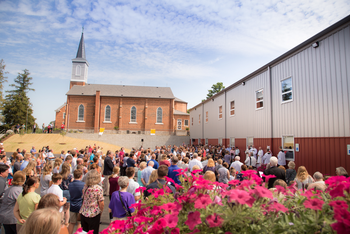 Criterion: Blessing & Dedication of the Education Center