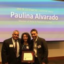 OUR VERY OWN PAULINA ALVARADO (Baptism Coordinator) WINS A SPECIAL AWARD