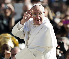 PRAISED BE - POPE FRANCIS CALLES US ALL TO CARE FOR CREATION