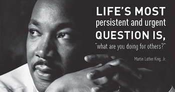 MARTIN LUTHER KING JR. DAY RACIAL JUSTICE DISCUSSION FOR YOUTH