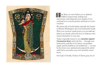 JOIN IN A PRAYER OF INTERCESSION TO OUR LADY OF SEATTLE