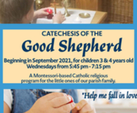 Catechesis of the Good Shepherd (Ages 3 & 4)