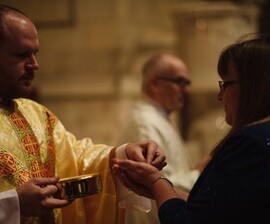 No Mass: All Priests in Winona with Archbishop Hebda for Presbyteral Assembly