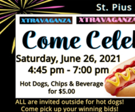 Xtravaganza Celebration - Hot Dogs, Chips, and Drinks