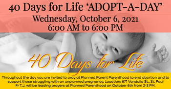 40 Days for Life -