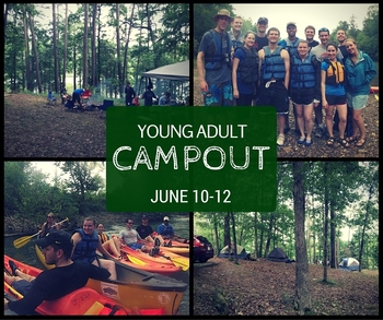 Young Adult Campout