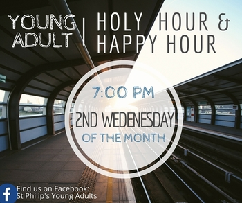 Lenten Holy Hour and Happy Hour