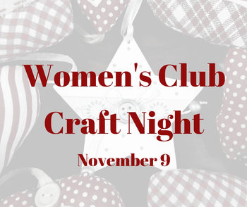 Women's Club Craft Night