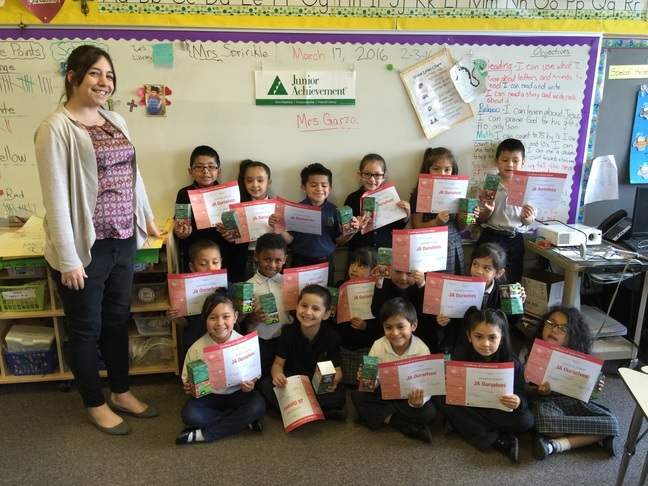 Junior Achievement March 2016